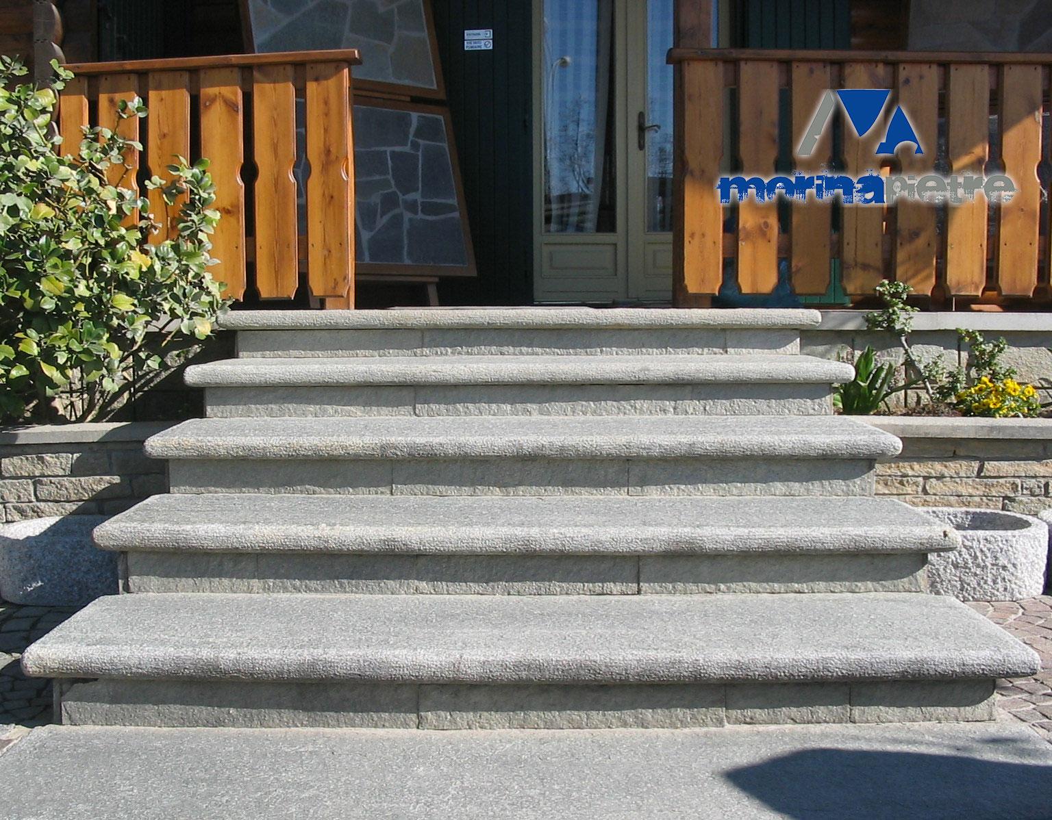 Scale in Pietra di Luserna